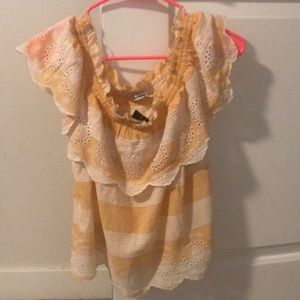 Brand New American Eagle Top! Off the shoulder!